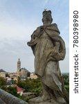 Statues Of Jesuit Saints At Th...