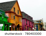 colorful buildings   lunenburg  ... | Shutterstock . vector #780403300