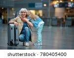 full length portrait of stylish ... | Shutterstock . vector #780405400