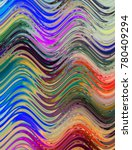 colorful wavy background... | Shutterstock . vector #780409294