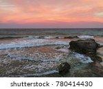 isla mujeres sunset | Shutterstock . vector #780414430