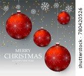 christmas light vector... | Shutterstock .eps vector #780420526