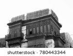 historical building   jeddah al ... | Shutterstock . vector #780443344