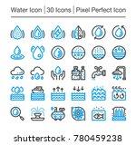 water line icon editable stroke ... | Shutterstock .eps vector #780459238