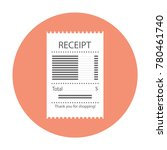 the concept of receiving a... | Shutterstock .eps vector #780461740