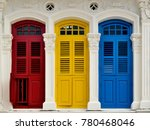 front view of traditional... | Shutterstock . vector #780468046