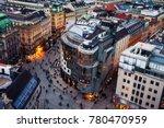 Vienna  Austria.  Crowd Of...