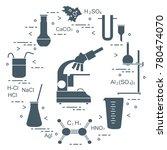 chemistry scientific  education ... | Shutterstock .eps vector #780474070