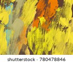 oil painting on canvas handmade.... | Shutterstock . vector #780478846