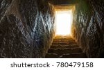 passage of the egyptian temple | Shutterstock . vector #780479158