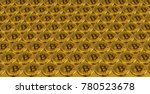 bitcoin virtual currency.... | Shutterstock . vector #780523678