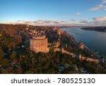 aerial view of rumeli castle... | Shutterstock . vector #780525130