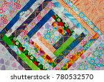 cotton fabric is original...   Shutterstock . vector #780532570