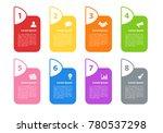 infographic design business...   Shutterstock .eps vector #780537298