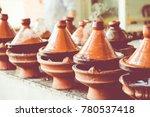preparing food in tajin... | Shutterstock . vector #780537418