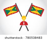 grenada emblem lack of idea... | Shutterstock .eps vector #780538483