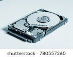 open hdd disc | Shutterstock . vector #780557260