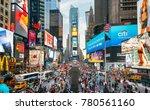 new york city  usa   june 21 ...   Shutterstock . vector #780561160