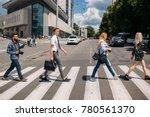 leisure crosswalk urban fashion ... | Shutterstock . vector #780561370