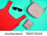 women's clothing and... | Shutterstock . vector #780574018