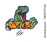 Raptors Monster Mascot Logo