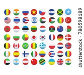 flags of the world | Shutterstock .eps vector #780598189