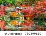 daigoji temple in autumn  kyoto.... | Shutterstock . vector #780599890