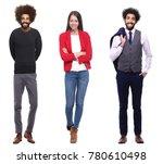 group of people | Shutterstock . vector #780610498