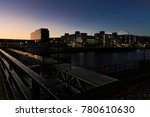 night falling at albert dock ... | Shutterstock . vector #780610630