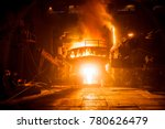 steel production in electric... | Shutterstock . vector #780626479