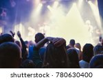 the audience watching the... | Shutterstock . vector #780630400
