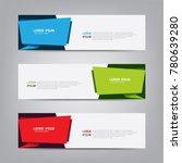 banner background. modern... | Shutterstock .eps vector #780639280