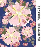 seamless vector a pattern floral | Shutterstock .eps vector #78066253
