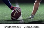 american football players are... | Shutterstock . vector #780663088