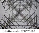 inside view of a signal tower... | Shutterstock . vector #780695128