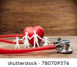 concept with family cut out... | Shutterstock . vector #780709576