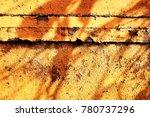 metal paint texture and...   Shutterstock . vector #780737296