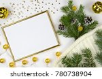 new year and christmas...   Shutterstock . vector #780738904