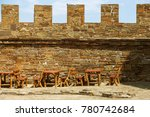 the ruins of the ancient... | Shutterstock . vector #780742684
