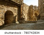 the ruins of the ancient... | Shutterstock . vector #780742834