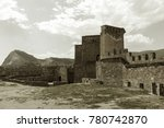 the ruins of the ancient... | Shutterstock . vector #780742870