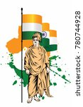 swami vivekananda great indian... | Shutterstock .eps vector #780744928