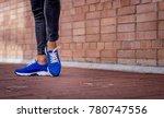 sneakers footwear sport | Shutterstock . vector #780747556