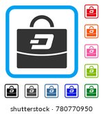 dash accounting case icon. flat ...   Shutterstock .eps vector #780770950