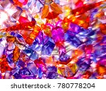 Background Of Colored Glass...