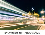 traffic at night near edinburgh ... | Shutterstock . vector #780796423
