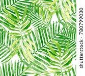 watercolor seamless pattern... | Shutterstock . vector #780799030