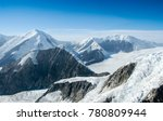 aerial view of glaciers in... | Shutterstock . vector #780809944
