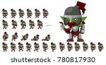 orc archer game character for...   Shutterstock .eps vector #780817930