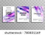 abstract colorful business... | Shutterstock .eps vector #780831169